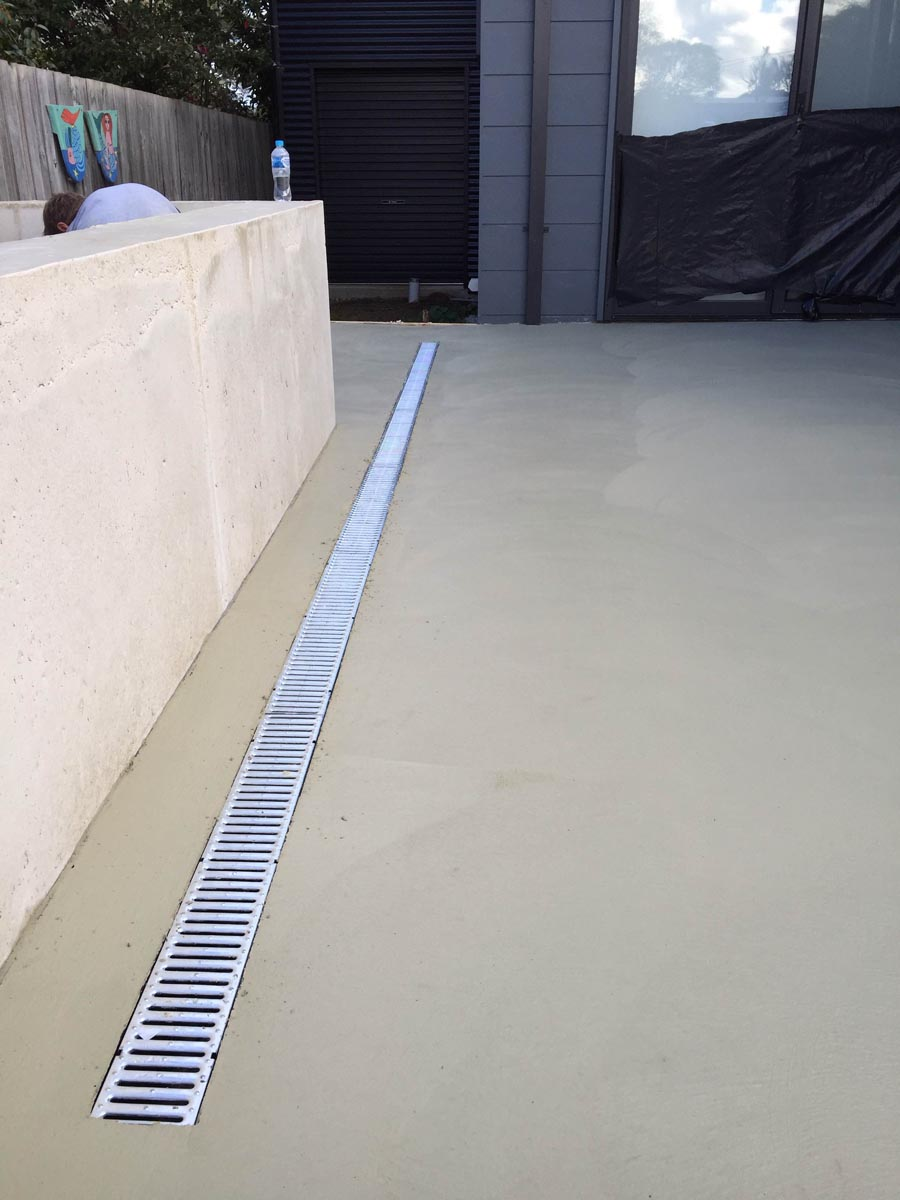 retaining walls epoxy coating geelong concrete